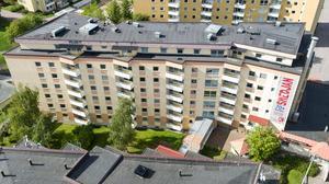 I trygghetsboendet Smedjan finns bland annat gemensamhetsutrymmen och tvättstuga på varje våningsplan. Foto: Kopparstaden