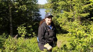Ingela Dahlin är en friluftsmänniska som engagerar sig mycket i och kring naturen. Hon var på väg från fjällen när olyckan inträffade.
