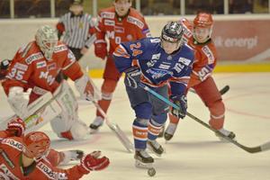 Örnsköldsvik Hockey gjorde en bra match, men till slut var Modo ett nummer för stora.