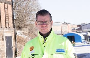 Kent Näslund, huvudskyddsombud på SMT i Sandviken, konstaterar att Sandvik har