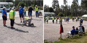 21 juli var PRO Björna-Gideå värd för seriespelet i boule. Foto: Ann-Marie Fredriksson