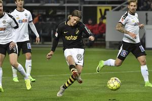 AIK:s Kristoffer Olsson gör 1–0.