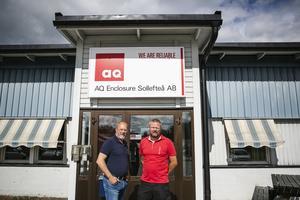 Joakim Falk och Jens Forsberg är extra nöjda med årets rekryteringar.