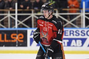 Sebastian Manberg är säsongens poängkung i HHC.