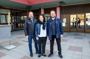 Patrik, Pernilla och Tommy har planerat ett fullspäckat program inför festen.