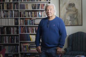 Journalisten och författaren Jan Guillou. Foto: Naina Helen Jåma / TT
