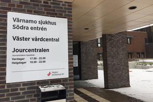 Även Väster vårdcentral i Värnamo håller extraöppet.