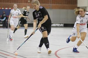 Ebba Olsson gjorde 5–1-målet mot Skattkärr.