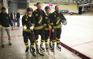 AIK har värvat fyra ryska spelare inför återkomsten i elitserien: Aleksandr Kim, Pavel Ryazantsev, Dimitrij Loginov och Alexey Chizhov.