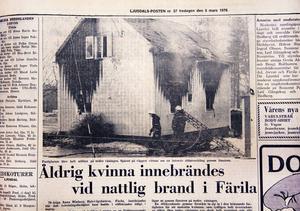Det hela började med vad som såg ut som en helt vanlig brand, med en mycket tragisk utgång.