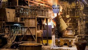 Det allra mesta av SSAB:s stål som säljs i USA är tillverkat i landet vilket gör att företaget inte blir så drabbat av de amerikanska importtullarna. Foto: Marcus Ericsson/TT