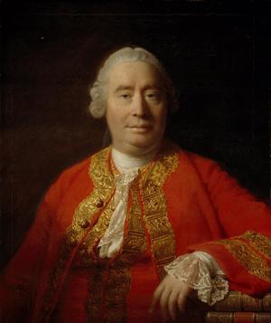 David Hume. Målning av Allan Ramsay från 1766.