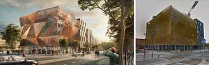 """Spektrum"" i Nya Hovås, i Göteborg. Hårt kriterserad, bland andra av Arkitektupproret. Bilder: Semrén+månsson / Google Maps"