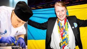 Lina Andersson från Erikslund tog guld i Euroskills 2018. Bild: Viktor Fremling.