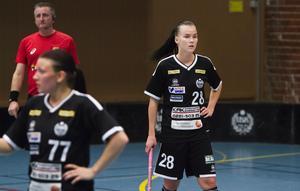 Hanna Garman har även spelat i IBK Köping, säsongen 2015/16. Foto: David Eriksson.