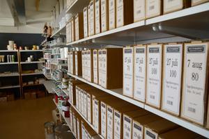 Arkivbild från butiken Kulturarvet på Bangårdsgatan i Östersund. Verksamheten startade 2006, enligt den egna hemsidan.