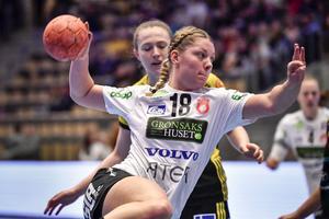 Det blev inga poäng med hem från Lund för Hannele Nilsson och hennes Skövde HF.