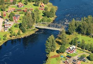 Dala-Floda - en av få platser Per Bjurman kan tänka sig att bo på. Arkivbild.Foto: Kent Olsson