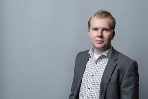Tony Gunnarsson, projektledare på Svenskt Näringsliv i Västerås.
