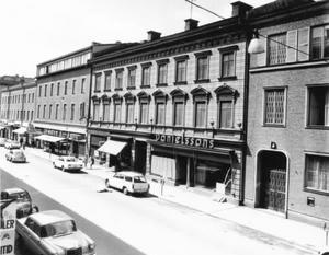 0d920518185 Danielssons konditori låg på Drottninggatan. Bild från 1972. (Bild: Örebro  stadsarkiv)