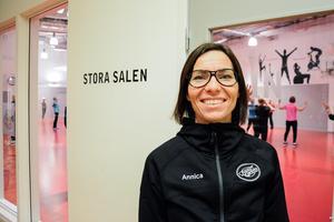 Verksamhetsledaren Annica Sjöblom rekommenderar människor att skaffa en träningskompis.