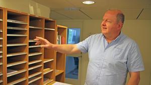 Malchaz Mikadze är chef på den alltmer populära bygglovsavdelningen i Nynäshamn.