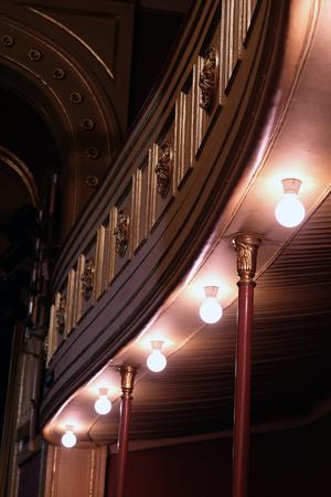 På 1980-talet fick Söderhamns teater tillbaka sitt 1800-talsutseende. Foto Anna Hedelius