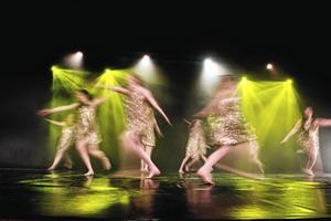 Dansare från kulturskolan i Örnsköldsvik.