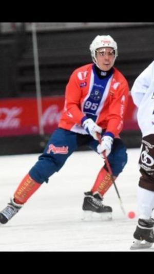 Simon Främgård är försvarare i norska tabelljumbon Hamar.