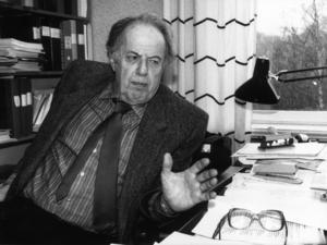LO-ekonomen Rudolf Meidner var arkitekten bakom löntagarfonderna, förslaget som blev vändpunkten för den svenska arbetarklassens växande styrka. Foto: Lasse Hedberg/SCANPIX
