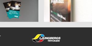 Skärmklipp från Ljungbergs hemsida.