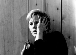 """Bibi Andersson som Alma i """"Persona"""", regisserad av Ingmar Bergman 1966, en skådespelarinsats som belönades med en guldbagge för den """"sensitiva och intelligenta"""" tolkningen av rollen som sköterskan Alma."""