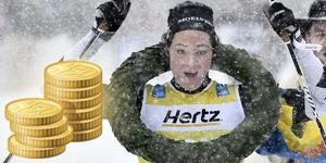 Britta Johansson Norgren vann Vasaloppet i våras och är rankad som världens bästa långloppsåkare. Nu får hon och konkurrenterna mer pengar att tävla om i vinter.  Foto: Ulf Palm / TT