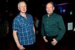 Lars-Åke Sundberg och Owe Eliasson från Sundsvall fanns på plats för dansens skull.