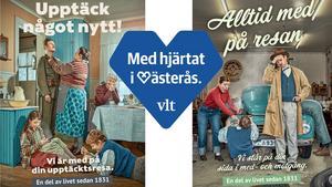 VLT måste ständigt vara relevant för sin tid, som i denna kampanj i våras som flirtade med 1940- och 1950-talet.