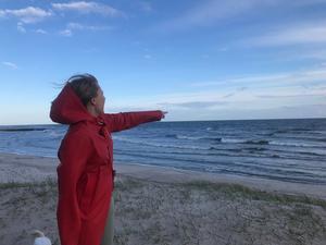 Tack vare bussen har Linda-Maria kunnat resa runt under sin studietid, i sommar åker hon till södra Europa. Foto: Sebastian Grönkvist