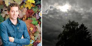 Höstens intåg är ett faktum för Medelpad, enligt meteorolog Per Holmberg. Fotot är ett montage. Bilder: Foreca / TT