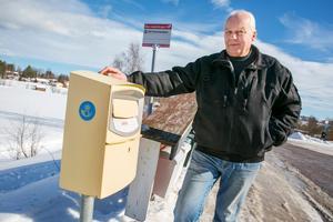 Jan Säbb blev chockad när han fick se hur gamla brev som låg i postlådan.
