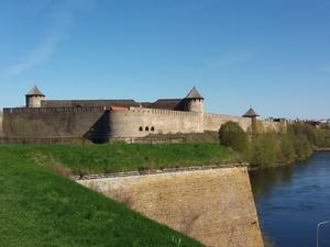 Ivangorods fästning.