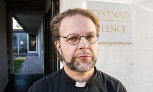 """""""Vi vill missionera genom tystnad"""" säger fader Peder Bergqvist."""