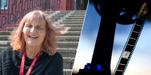 Anna-Lena Engström, vikarierande organist i Nynäshamns församling, leder lördagens konsertkväll med filmmusik.