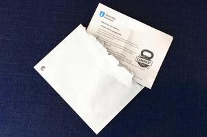Det kom ett brev från Södertälje kommun om Camp 65+.