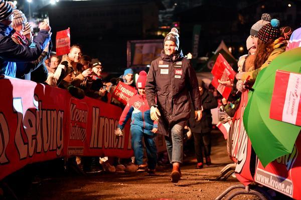 Äntligen fick Anna Swenn Larsson åter vara med bland de femton främsta på den officiella lottningen.