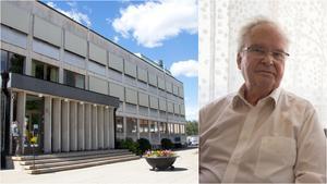 Leif Dovås, 79, var med och firade att Norbergs kommunhus fyller 60 år.