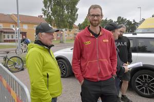 Jan Erlandsson och Jonas Brottare ser en fungerande logistik  men den bygger på erfarenhet och planering.