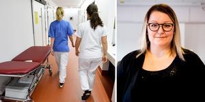 Yrkesskickliga sjuksköterskor i Gävleborg får inte den löneökning Anna Bergström, Vårdförbundet, hoppats på. Bild: Henrik Montgomery, TT/Simon Nilsson Larsson
