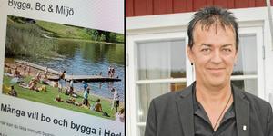 Kenneth Berggren menar att det inte finns en marknad för nyproduktion i Hedemora kommun.