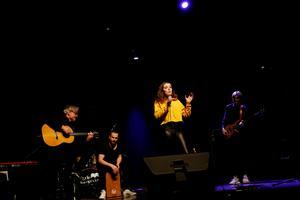 Ida Graee körde bland annat låten U-turn som även spelats på P4 Jämtland.