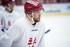 Johan Lindholm kom tillbaka till hockeymedelpad i somras efter att ha spelat i division 1 med Troja-Ljungby förra säsongen.