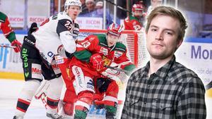 Hockeypuls Marcus Simm listar fem heta punkter efter matchen mellan Mora och Malmö. Foto: Daniel Eriksson/Bildbyrån